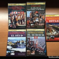 Cine: PACK 5 DVD'S 2ª GUERRA MUNDIAL (PRECINTADOS) HITLER REICH NAZIS ALEMANIA SS DIA D. Lote 137970250