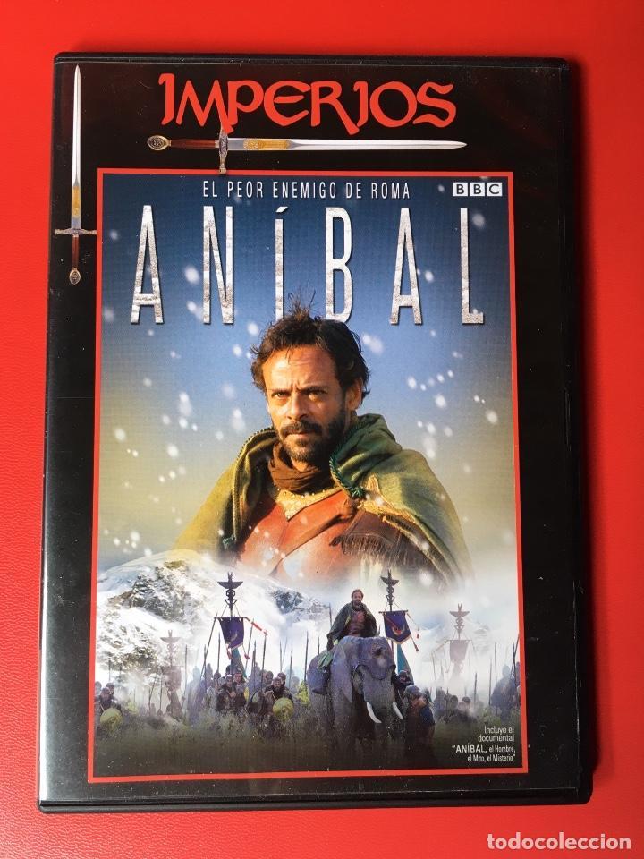 ANÍBAL DOCUMENTAL DVD ROMA BBC HISTORIA GUERRAS (PERFECTO) (Cine - Folletos de Mano - Documentales)