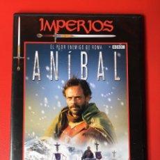 Cine: ANÍBAL DOCUMENTAL DVD ROMA BBC HISTORIA GUERRAS (PERFECTO). Lote 137979726