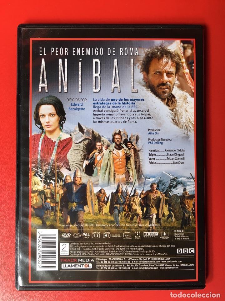 Cine: Aníbal Documental DVD Roma BBC Historia guerras (perfecto) - Foto 2 - 137979726