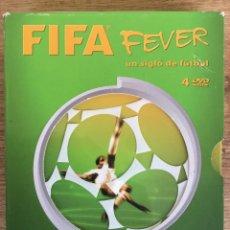 Cine: FIFA FEVER - UN SIGLO DE FÚTBOL - EDICIÓN ESPECIAL 4 DVD CELEBRANDO 100 AÑOS DE FIFA. Lote 138206926