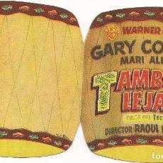 Cine: TAMBORES LEJANOS (1951). Lote 138686658