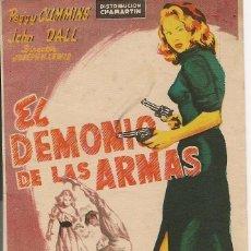 Cine: EL DEMONIO DE LAS ARMAS (1950). Lote 138687106