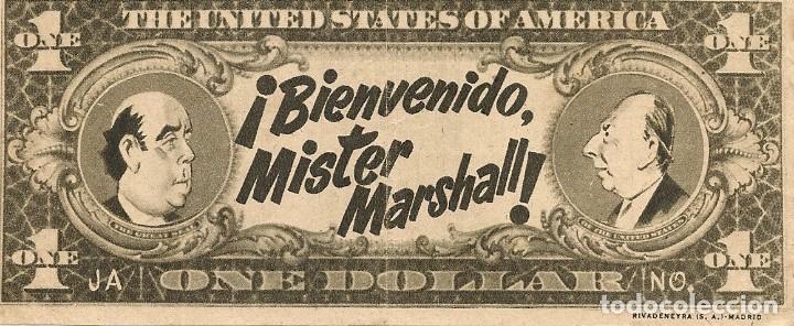 BIENVENIDO, MISTER MARSHALL (1953) (Cine - Folletos de Mano - Clásico Español)