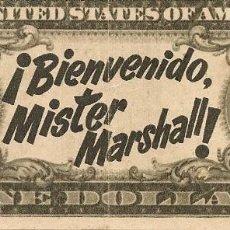 Cine: BIENVENIDO, MISTER MARSHALL (1953). Lote 138688366