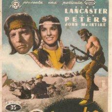 Cine: APACHE (1954). Lote 138688638
