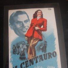 Cine: EL CENTAURO - EXCLUSIVAS BARCELÓ - BILBAO - SIN PUBLICIDAD. Lote 138840086