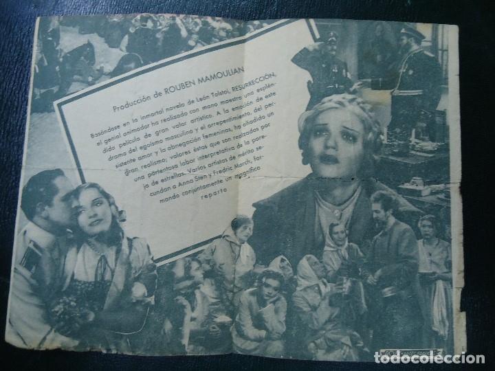 Cine: VIVAMOS DE NUEVO ESTRENO 10 DE MAYO DE 1936 ANNA STEN Y FRSDRIC MARCH PARAMOUNT RARO CON FECHA - Foto 3 - 138889922