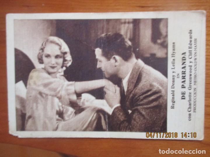 Cine: CINE -FOLLETOS DE MANO -AÑOS 30 -LOTE DE 19 DIFERENTES - Foto 9 - 138942590