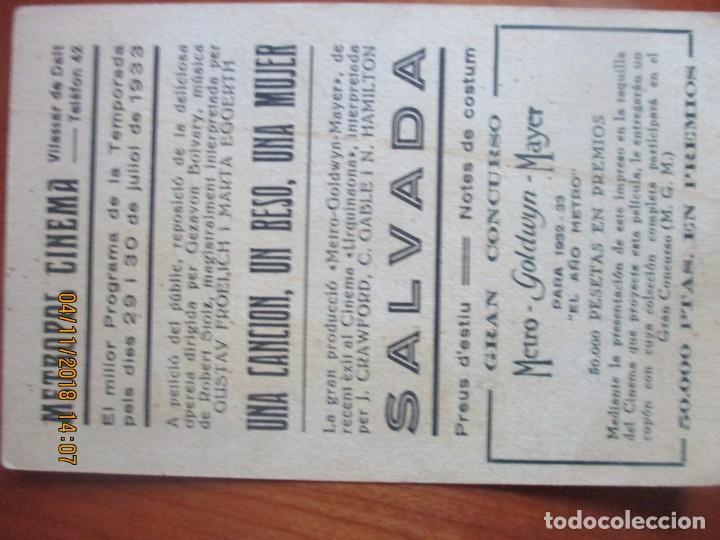 Cine: CINE -FOLLETOS DE MANO -AÑOS 30 -LOTE DE 19 DIFERENTES - Foto 21 - 138942590