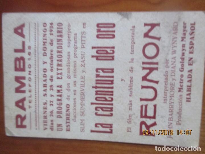 Cine: CINE -FOLLETOS DE MANO -AÑOS 30 -LOTE DE 19 DIFERENTES - Foto 22 - 138942590