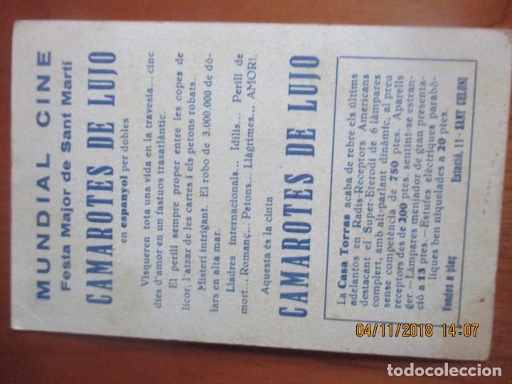Cine: CINE -FOLLETOS DE MANO -AÑOS 30 -LOTE DE 19 DIFERENTES - Foto 23 - 138942590
