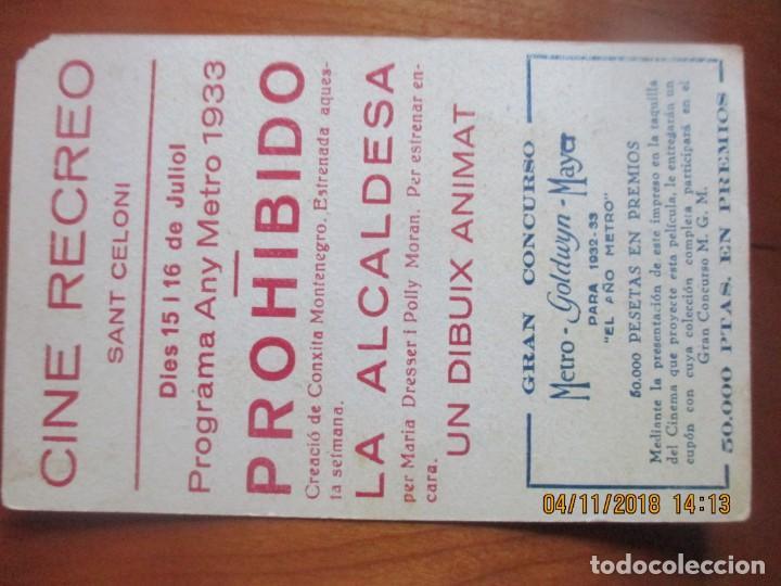Cine: CINE -FOLLETOS DE MANO -AÑOS 30 -LOTE DE 19 DIFERENTES - Foto 32 - 138942590