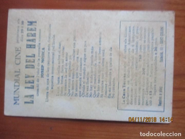 Cine: CINE -FOLLETOS DE MANO -AÑOS 30 -LOTE DE 19 DIFERENTES - Foto 35 - 138942590