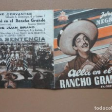 Cine: ALLÁ EN EL RANCHO GRANDE. Lote 139440846