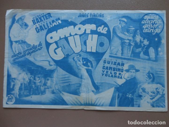 Cine: AMOR DE GAUCHO - Foto 2 - 139495246