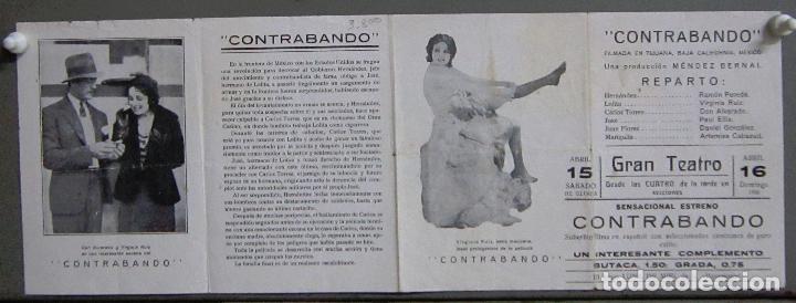 Cine: PTCC 027 CONTRABANDO PROGRAMA DOBLE DON ALVARADO VIRGINIA RUIZ - Foto 3 - 139540218