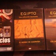 Cine: EGIPTO UNA CIVILIZACION FASCINANTE,MISTERIOS EGIPCIOS,CLEOPATRA,EGIPTO. Lote 139606526