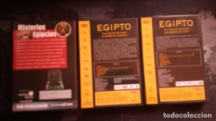 Cine: dvd egipto una civilizacion fascinante,misterios egipcios,cleopatra,egipto,documental - Foto 2 - 139606526