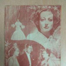 Cine: CUANDO EL DIABLO ASOMA 1936 - PROGRAMA DE MANO DOBLE. Lote 139617246