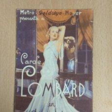 Cine: LA NOVIA ALEGRE 1934 - PROGRAMA DOBLE DE MANO SIN PUBLICIDAD. Lote 139619826