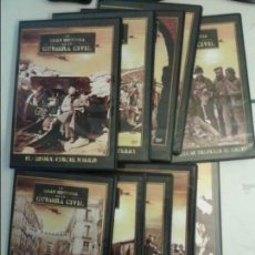 Cine: LA GRAN HISTORIA DE LA GUERRA CILVIL 10 DVD . Lote 139672306