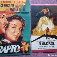 Cine: EL VIEJO FUSIL Y EL RAPTO NUEVOS. Lote 139688466