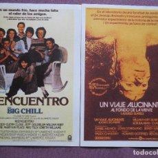 Cine: VIAJE ALUCINANTE AL FONDO DE LA MENTE Y REENCUENTRO NUEVOS. Lote 139688802