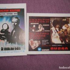 Cine: EL ULTIMO HOMBRE VIVO NUEVOS. Lote 139689394