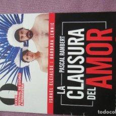 Cine: LA CLAUSURA DEL AMOR. Lote 139693226