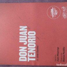 Cine: DON JUAN TENORIO DE BLANCA PORTILLO. Lote 139693786