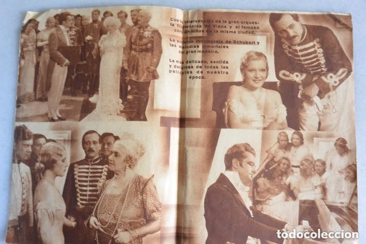 Cine: PROGRAMA CINE DOBLE VUELAN MIS CANCIONES.1934 - Foto 2 - 139695230