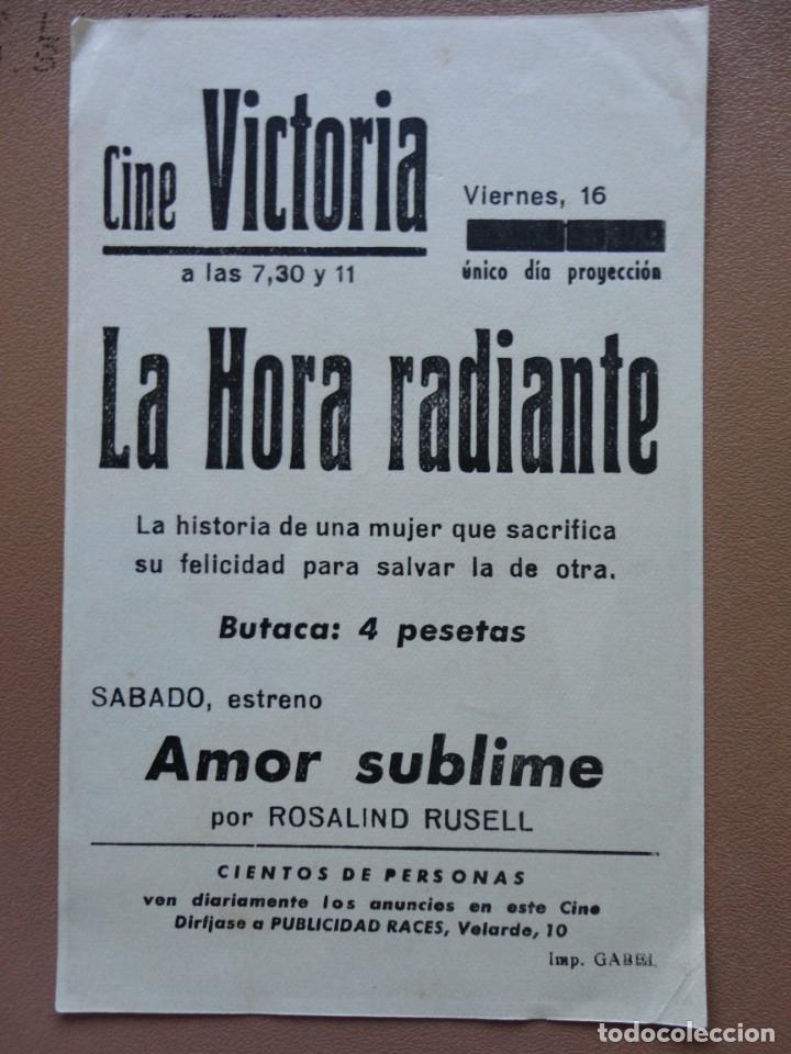 Cine: LA HORA RADIANTE - Foto 2 - 139786530