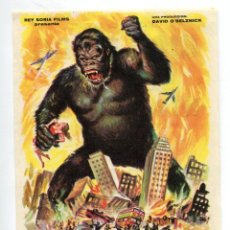 Cine: KING KONG, CON FAY WRAY.. Lote 185753775