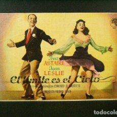 Cine: EL LIMITE ES EL CIELO-THE SKY'S THE LIMIT-E. H. GRIFFITH-FRED ASTAIRE-CINE ESPAÑA-LLAGOSTERA-(1943).. Lote 140023470