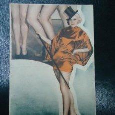 Cine: VAMPIRESAS 1936 DICK POWELL DOLPHE MENJOU GLORIA STUART WARNER BROS DOBLE PUBLICIDAD TEATRO CÍRCULO . Lote 140027574