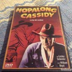 Cine: DVD HOPALONG CASSIDY ( LA LEY DEL REVÓLVER) LESLEY SELANDER / WILLIAM BOYD. Lote 140049138