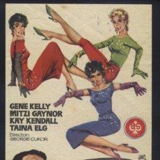 Cine: P-0049- LAS GIRLS (LES GIRLS) GENE KELLY - MITZI GAYNOR - KAY KENDALL - TAINA ELG. Lote 140164678