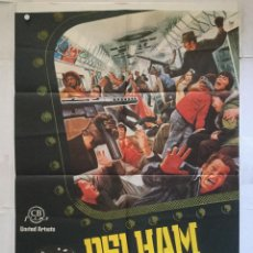 Cine: PELHAM 1 2 3 - POSTER CARTEL ORIGINAL - WALTER MATTHAU ROBERT SHAW TREN TRAIN . Lote 140245910