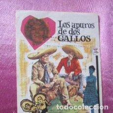 Cine: LOS APUROS DE DOS GALLOS ACEVES MEJIA LILIAN DE CELIS CINE C16. Lote 140321714