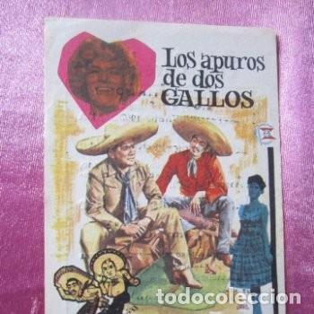 Cine: LOS APUROS DE DOS GALLOS ACEVES MEJIA LILIAN DE CELIS CINE C16 - Foto 2 - 140321714
