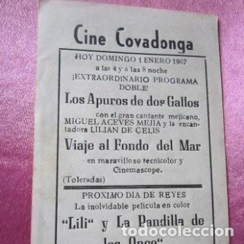 Cine: LOS APUROS DE DOS GALLOS ACEVES MEJIA LILIAN DE CELIS CINE C16 - Foto 4 - 140321714