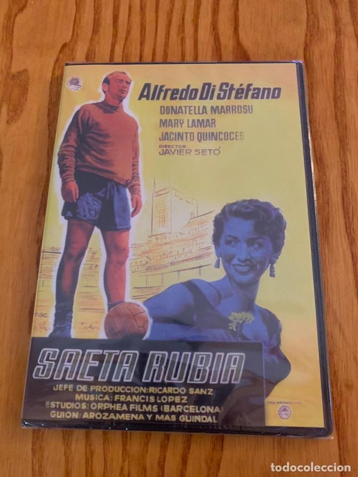 PELÍCULA DVD ALFREDO DI STEFANO SAETA RUBIA REAL MADRID (Cine - Folletos de Mano - Deportes)