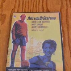 Cine: PELÍCULA DVD ALFREDO DI STEFANO SAETA RUBIA REAL MADRID. Lote 140375294