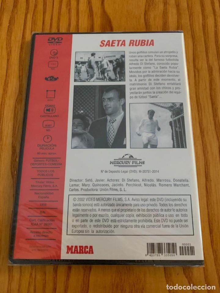 Cine: Película dvd Alfredo di Stefano saeta rubia real madrid - Foto 2 - 140375294