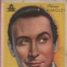 Cine: PROGRAMA DE CINE PUBLICIDAD DENTICHLOR CREMA DENTAL ACTOR ADRIANO RIMOLDI - CIFESA. Lote 140406674