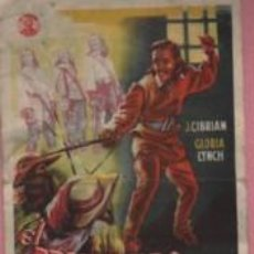 Cine: PROGRAMA CINE CIRCULO DE MANRESA EL PRISIONERO DE LA BASTILLA - J. CIBRIAN GLORIA LYNCH. Lote 140504230