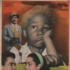 Cine: PROGRAMA CINE COLISEUM DE GRANOLLERS 1952 - ANGELITO NEGRO UMPERTO SPADARO ISA POLA. Lote 140509662