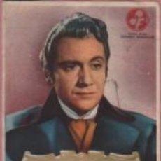 Cine: PROGRAMA CINE FOMENTO Y SAVOY MOLINS DE REY - SIMBAD EL MARINO 1949 - RAFAEL DURAN PAOLO BARBARA. Lote 140510062