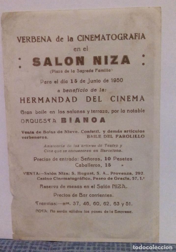 Cine: HOMBRES INTREPIDOS - JOHN WAYNE - PROGRAMA DE MANO FOLLETO DE CINE CON PUBLICIDAD AL DORSO - Foto 2 - 140547630